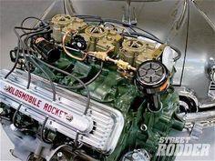 Oldsmobile Rocket tripower