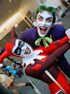 Harley's Joker and Joker's Harley. These two are adorable together. :)