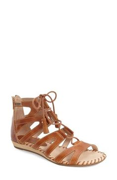 PIKOLINOS 'Alcudia' Lace-Up Sandal (Women) available at #Nordstrom