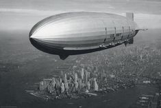 The Hindenburg disaster went a long way toward killing the use of zeppelins. And World War II put the nail in the coffin.
