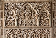 Alhambra-castle-Nasrid-palace-detail.-Granada-in-Andalusia-region-of-Spain.jp...