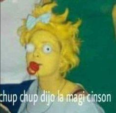 Succ succ said the Magi Simpson