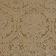 Tablecloth, Vanilla Gold Damask