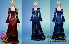 Ladesire's creative corner): TS4 - Medieval Dress by Ladesire