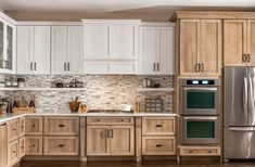 Kitchen Ideas Deluxe Hood with Coastal Sheer Finish Prevent Home Electrical Fires Inadequate electri Diy Kitchen Cabinets, Kitchen Redo, Home Decor Kitchen, New Kitchen, Home Kitchens, Kitchen Remodel, Kitchen Design, Natural Wood Kitchen Cabinets, Traditional Kitchen Cabinets