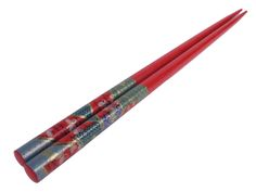 Red w/ Butterfly Chopstick