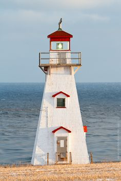 Cape Tryon lighthouse, PEI. Endangered. On land trying to be saved by the L.M. Montgomery Land Trust http://www.landtrust.ca/ (photo by Stephen Desroches of focusedonlight.com)