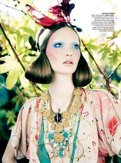 Codie Young por Nicole Bentley para Vogue Austrália Abril 2011