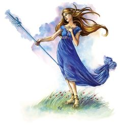 Mishakal, and the Blue Crystal Staff // DL Campaign Setting