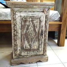 petit meuble indien ancien bois india 50cm