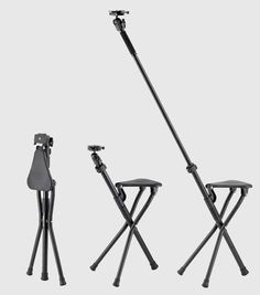 The 'Chairpod' is a Camera Tripod That Doubles As a Chair