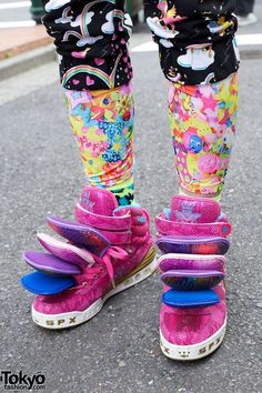 japanese fashion -  a little to literal for me but inspirational nonetheless