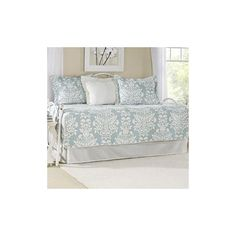 Found it at Wayfair - Rowland Breeze 5 Piece Daybed Quilt Set in Blue