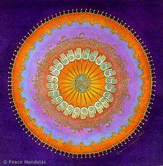 healing hands mandala