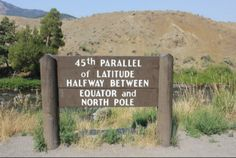 Stand Halfway Between The Equator And North Pole In This One Spot In Wyoming #wyoming #45thparallel