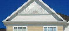 Image result for images of attic vents Attic Vents, Gable Vents, Roof Lines, The Gables, Vinyl Siding, Interior Walls, Wall Spaces