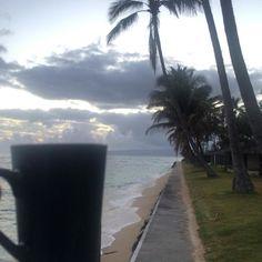 Slow morning #coffee