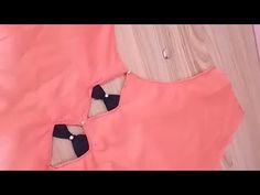 Salwar Neck Designs, Saree Blouse Neck Designs, Neck Designs For Suits, Kurta Neck Design, Sleeves Designs For Dresses, Stylish Blouse Design, Sari Blouse Designs, Designer Blouse Patterns, Dress Neck Designs