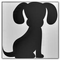 Dog outline - Daily Dog Buzz Dog Outline, Dogs, Black, Dresses, Fashion, Vestidos, Moda, Black People, Fashion Styles