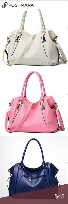 Clearance ** Hobo purse Cream and pink available. Blue not available  17x11 Price is for 1 only Please select color Bags Hobos