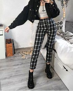 Style Outfits, Mode Outfits, Retro Outfits, Grunge Outfits, Cute Casual Outfits, Easy Outfits, Vintage Outfits, Hipster Fashion Style, Egirl Fashion