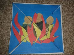 Flame: Creative Children's Ministry: Shadrach, Meshach and Abednego in the fiery furnace craft Camping Crafts For Kids, Bible Crafts For Kids, Bible Lessons For Kids, Preschool Bible, Kids Camp, Fire Crafts, Vbs Crafts, Church Crafts, Jesus Crafts