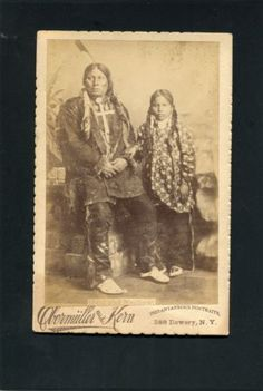 Cabinet Card Photograph Native American Indian photo by Obermuller  in Collectibles, Photographic Images, Vintage & Antique (Pre-1940), Cabinet Photos | eBay
