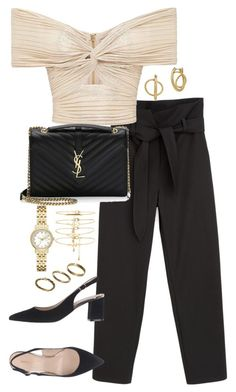 """Untitled #5074"" by theeuropeancloset on Polyvore featuring Yves Saint Laurent, Lucky Brand, Forever 21, Kate Spade and Made"