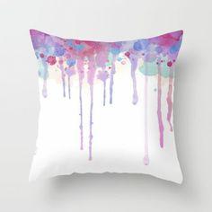 kissenbezüge basteln farben kissenhüllen kissen deko ombre lila