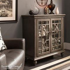 An accent cabinet makes a great addition to any area in your home—it's perfect for an entryway, hallway or as an accent piece in your living room or dining room.