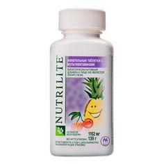 NUTRILITE™ жевательные таблетки с мультивитаминами с бесплатной доставкой.
