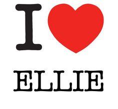 I Heart Ellie #love #heart