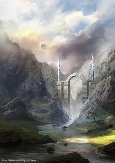Conceptual Art by Viktor Fetsch #Art #Sci-fi #fantasy