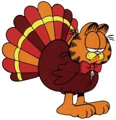 Garfield Thanksgiving Turkey