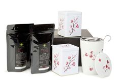 Cherry Blossom Gift Set This beautiful cherry blossom teaware and tea gift set is an ideal gift for a tea lover. Tea Gift Sets, Tea Gifts, Cherry Blossom, Coffee, Tableware, Beautiful, Kaffee, Tea Favors, Dinnerware