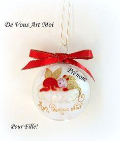 nouveau-né Cadeau or flocons de neige Mon Premier Noël Premier Noël Tutu Ange