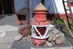 Käsmu lighthouse old lamp, Estonia