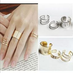 Gold Rings Brand new.. Jewelry Rings