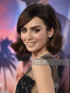 Actress Lily Collins arrives at AFI FEST 2016 Presented by Audi - Opening Night - Premiere of 20th Century Fox's 'Rules Don't Apply' at TCL Chinese Theatre on November 10, 2016 in Hollywood, California.