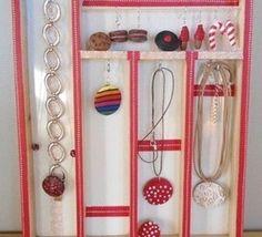 Faire un cadre pr sentoir bijoux les tutos fabrications - Presentoir bijoux fait maison ...