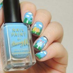 Pastel Galaxy nail art by Marine LP - Nailpolis: Museum of Nail Art