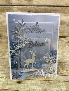 Create Christmas Cards, Homemade Christmas Cards, Printable Christmas Cards, Stampin Up Christmas, Xmas Cards, Christmas Greetings, Homemade Cards, Holiday Cards, Christmas 2019