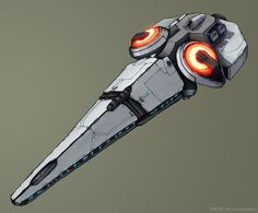 Another spaceship for my Science-Fiction world Xegity. I have included the specs within the image this time.