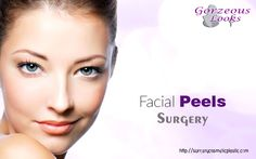 A #chemical #peel is a treatment in which an acid solution is used to remove the damaged outer layers of the #skin.