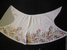 """Юбки ручной работы. Ярмарка Мастеров - ручная работа Индия.Джинсовая юбка с вышивкой""""Индийские мотивы"""". Handmade."""