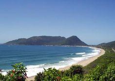 Praia da Armação, Florianópolis, Santa Catarina, Brasil.