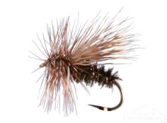 Peacock Caddis - adds the proven fish catching ability of peacock herl to a classic caddis silhouette. This fishing fly can be fly fished still or skated enticingly for aggressive trout willing to attack egg laying caddis flies. #RiverBum