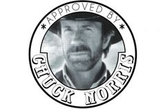 Approved by Chuck Norris