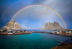 The magic of Lofoten! - Sakrisøy, Lofoten Island, Norway. Shot during a workshop with Arild Heinemann and Iurie Belegurschi