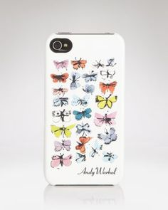 Andy Warhol Butterflies iPhone Case